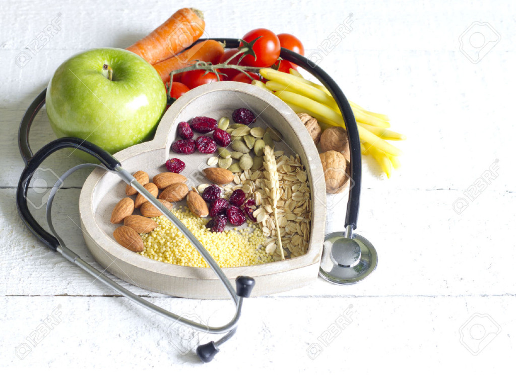 39335774-healthy-food-in-heart-diet-abstract-concept-stock-photo