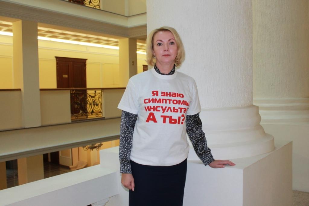 Член Совета Федерации Ирина Гехт