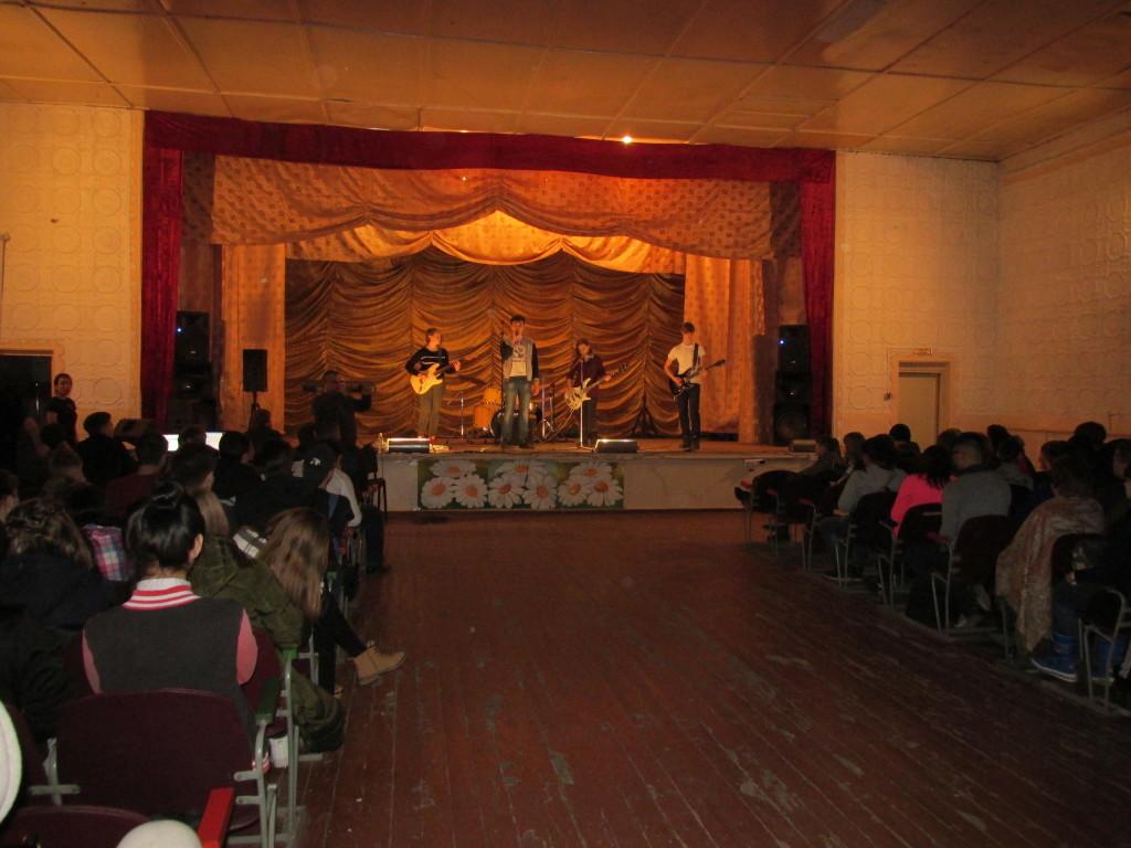 Рок-концерт против СПИДа в Троицке