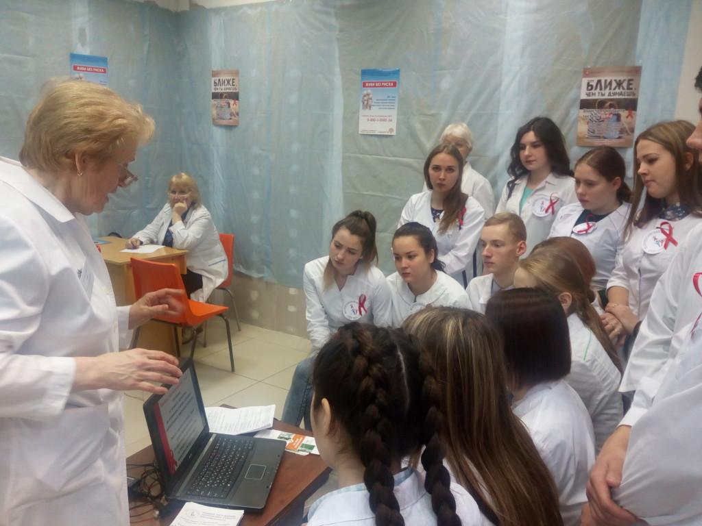 Обучение волонтеров в г. Миассе