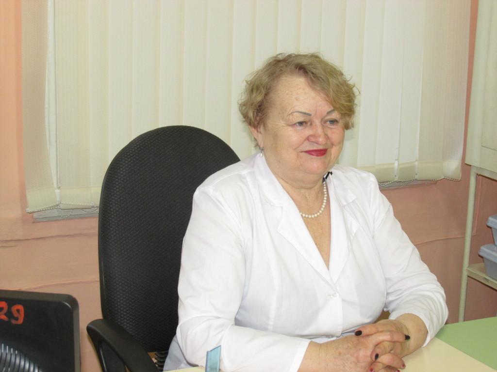 Заведующий диспансерного отделения Областной туберкулезной больницы №13 Г.Н. Замрыга