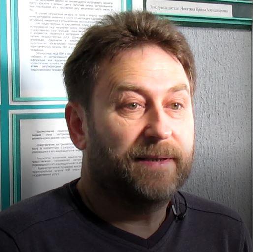 Евгений Паньков, заведующий отделом медицинской профилактики в г. Троицке