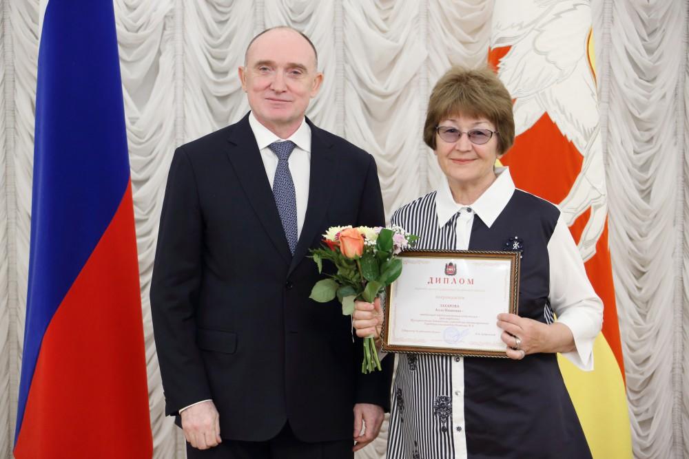 Борис Дубровский наградил медицинских работников