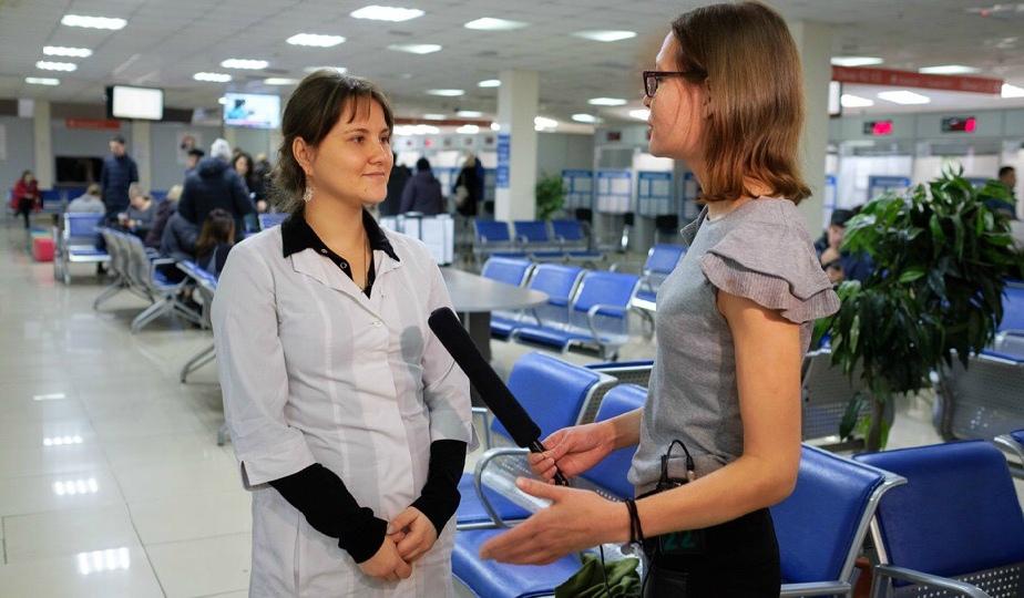 """Врач ГБУЗ """"ЧОЦМП"""" А.В. Дьяконова"""